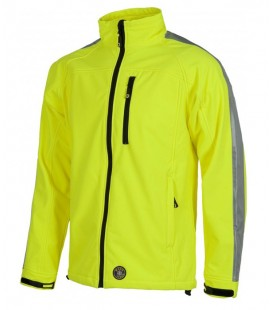 Chaqueta WorkShell S9530 amarillo