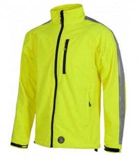Chaqueta WorkShell S9530 amarillo