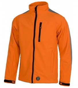 Chaqueta WorkShell S9530 naranja