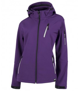Chaqueta WorkShell S9497 MORADO