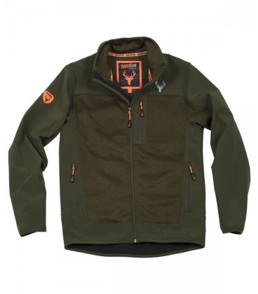Chaqueta Workshell S8650 VERDE CAZA