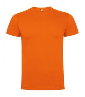 Camiseta Naranja Algodón 1