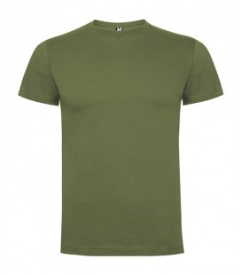 Camiseta Verde Militar Algodón 1