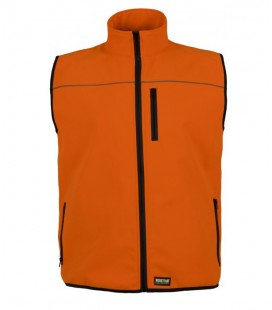 Chaleco WorkShell S9320 naranja